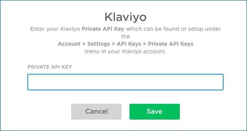 Klaviyo-API