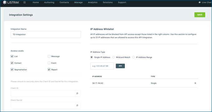 Integration-Setup-Detail-Page-Listrak