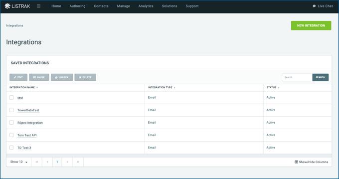 Listrak-Main-Integration-Page