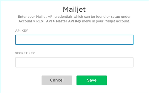 Mailjet-Authorization