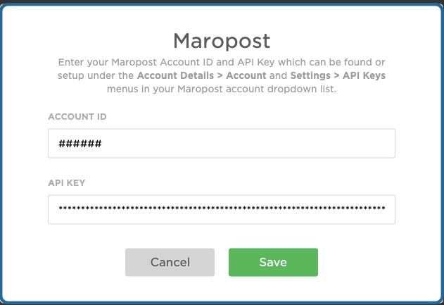 Maropost-APIKeyDetails